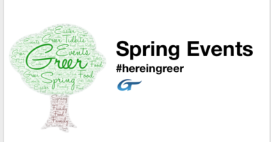 Spring Events in Greer