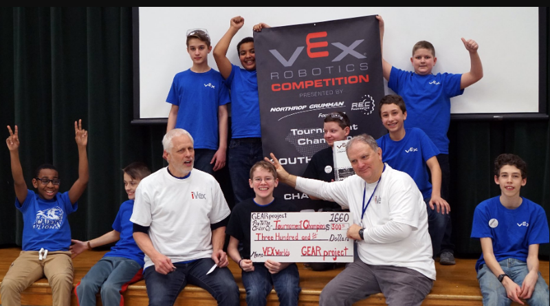 Local Robotics Team Wins State Championship